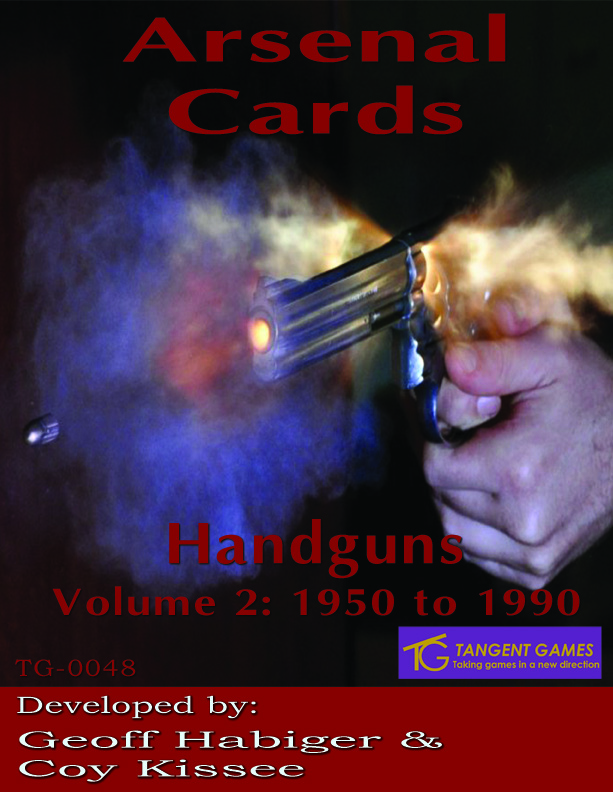 Arssenal Cards: Handguns Vol 2