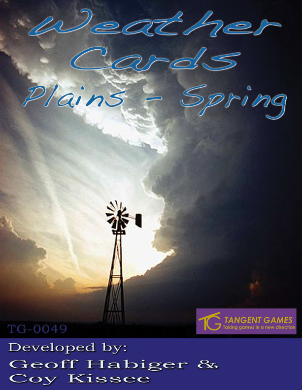 Weather Cards: Plains - Spring