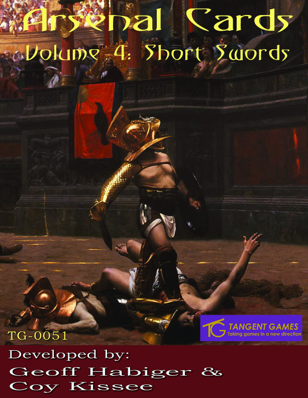 Arsenal Cards Vol 4: Short Swords