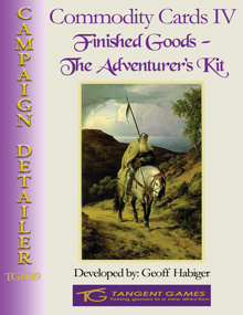 Commodity Cards IV: Finished Goods - The Adventurer's Kit