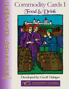 Commodity Cards I: Food & Drink